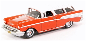 87CN57002 Chevrolet Nomad 1957 Rio Red/Arctic White £5