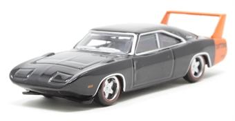 87DD69001 Dodge Charger Daytona 1969 Black