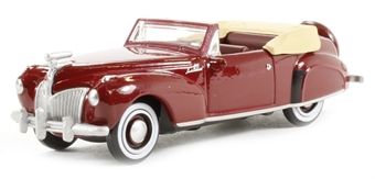 87LC41001 Lincoln Continental 1941 in maroon