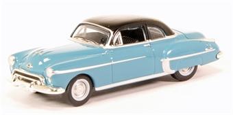 87OR50002 Oldsmobile Rocket 88 Coupe 1950 Crest Blue/Black