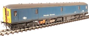 8914 Class 128 parcels DMU W55991 in BR blue - weathered