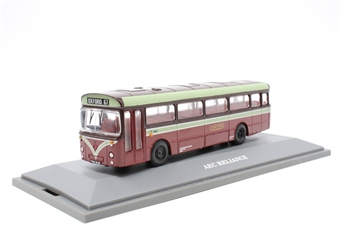 """97130-PO09 AEC Reliance/BET - """"City of Oxford Motor Services Ltd"""" - Pre-owned - Like new"""