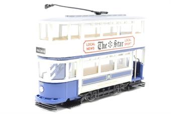 97288-PO Sheffield Corporation Double Deck Tram - Pre-owned - Like new £10