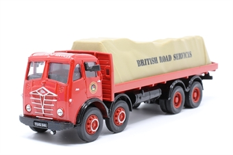97309-PO03 Foden FG 8-wheel Flatbed With Tarpaulin 'BRS' - Pre-owned - Like new