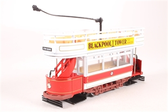 97365-LN05 Double Deck Open Top Tram - 'Blackpool' - Pre-owned - Like new £15