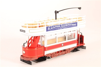 97365-LN06 Double Deck Open Top Tram - 'Blackpool' - Pre-owned - Like new £14