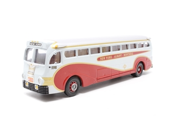 98468-PO01 Champlain Yellow Coach - Pre-owned - Marks on sides of coach