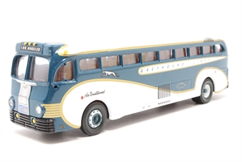 98469-PO Yellow Coach 743 'Greyhound Lines' - Pre-owned - Like new
