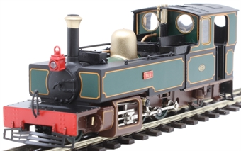 "9950 Lynton & Barnstaple 2-6-2T ""Yeo"" in L&B dark green"