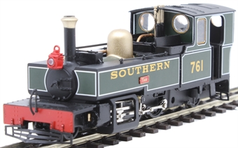 "9952 Lynton & Barnstaple 2-6-2T 761 ""Taw"" in Southern Railway green"