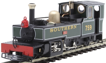 "9954 Lynton & Barnstaple 2-6-2T E759 ""Yeo"" in Southern Railway livery"
