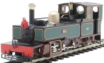 "9955 Lynton & Barnstaple 2-6-2T ""Exe"" in L&B dark green"