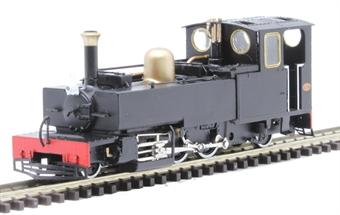 "9961 Lynton & Barnstaple 2-6-2T 190 ""Lyd"" in plain black"