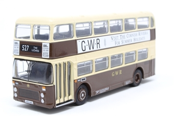 """99646-PO01 Bristol/ECW VR series 3 d/deck bus """"Western National G.W.R."""" - Pre-owned - Like new £13"""