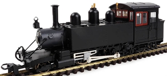 9980 Lynton & Barnstaple Baldwin 2-4-2T in plain works black - (Price is estimated - we will notify you if price rises and offer option to cancel)