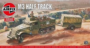 A02318V US Army M3 Half-track - Airfix Classics range - plastic kit