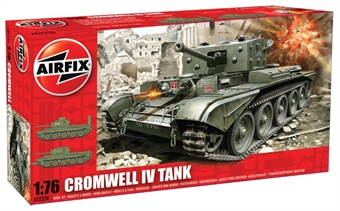 A02338 Cromwell Mk.IV Cruiser tank with British Armoured marking transfers. £4.90