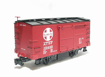 A40302 Box car 20ft - ATSF / Santa Fe red livery £37