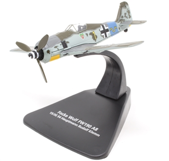 AC090S Focke Wulf 190A 15/JG 54 - Hauptmann Rudolf Klemm - No Swastika