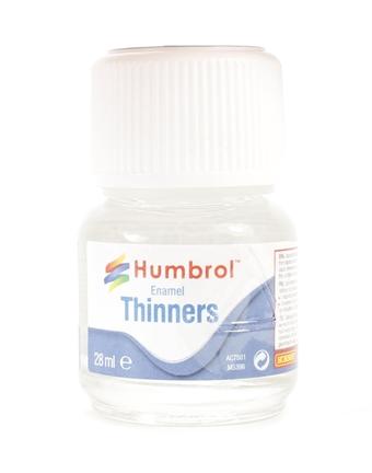 AC7501 Enamel Thinners 28ml Bottle.