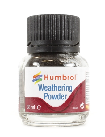 humbrol weathering powder how to use