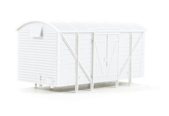 B004Dapol Unpainted wagon body - GWR vent van VB4