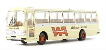 "B018bs Leyland Leopard Duple Dominant II ""Wallace Arnold"" in cream (circa 1977-1983)"