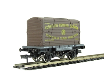 "4F-037-003 Conflat wagon and container ""GWR"" (ex-B1006)"
