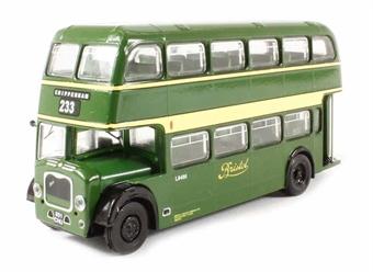 "B108B Bristol Lodekka LD1 Open Platform Short Radiator ""Bristol Omnibus Co."" 233 to Chippenham (circa 1957-1973)"