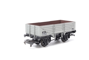 B11-PO07 5 plank open wagon M407565 in BR Grey - Pre-owned - Like new
