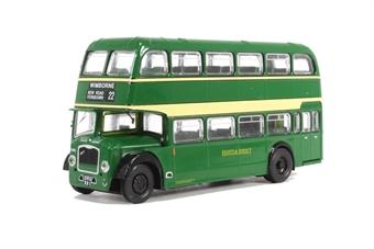 B115B Bristol Lodekka LD6G - Hants & Dorset - 22 to Wimborne