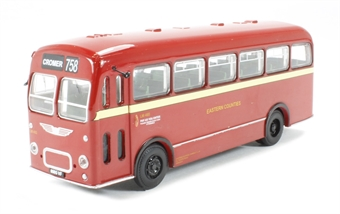 B201A Bristol MW Single Deck Bus 'Eastern Counties' to Cromer (circa 1959-1974) £16