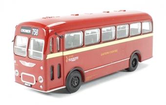 B201A Bristol MW Single Deck Bus 'Eastern Counties' to Cromer (circa 1959-1974)
