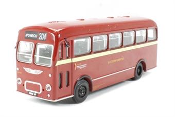 B201B Bristol MW Single Deck Bus 'Eastern Counties' to Ipswich (circa 1959-19784)