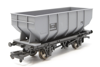 B585-PO02 21 Ton hopper wagon in BR grey - Pre-owned - Like new