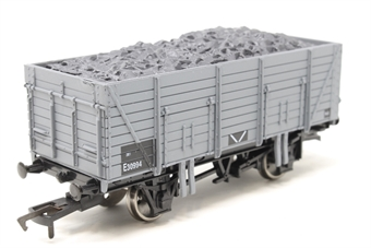 B631-PO02 9 plank open wagon in BR grey - Pre-owned - Like new £9