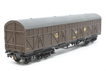 B76.Dapol-PO07 Siphon H Van GWR 1435 - Pre-owned - renumbered and repainted, original couplings replaced with screw link couplings, imperfect box