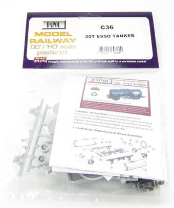 """C036 20T Class B Tanker """"Esso"""" plastic kit"""