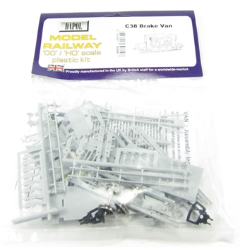 C038 BR Brake Van wagon plastic kit £4.39