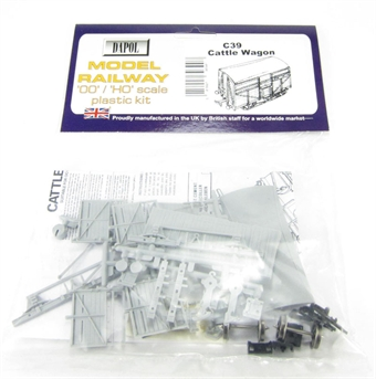 C039 BR Cattle Wagon plastic kit £5.40