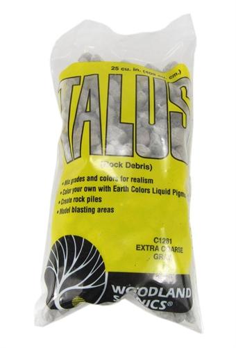 C1281 Talus Rock Debris - Extra Coarse - Gray £2.80