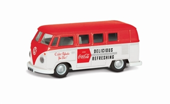 CC02732 VW Camper - Coca Cola - early 1960s style