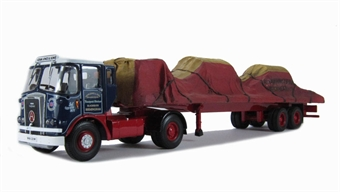 CC12515 Atkinson Borderer Tandem Axle Trailer and Canvas Load - Adam Jones & Sons - Birmingham £51