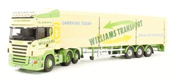 "CC13746 Scania R (Rear Tag) Moving Floor Trailer ""Williams Transport, Huntingdon"""