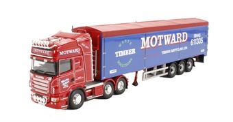 "CC13752 Scania R Moving Floor Trailer ""Motward Timber Recycling Ltd, Huntingdon"""