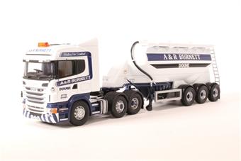 CC13778 Scania R, Feldbinder Tanker, A & R Burnett