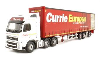 """CC14040 Volvo FH Super Trailer """"Currie European, Dumfries, Scotland"""""""