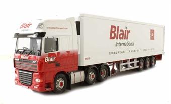 """CC14118 DAF XF Fridge Trailer """"Blair International, Ballymena, County Antrim"""""""