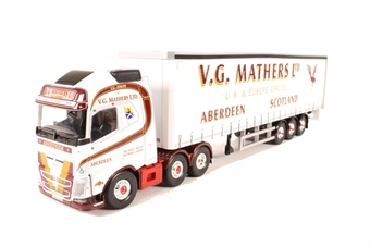 CC16003 Volvo FH, Curtainside Trailer, V.G. Mathers, Inverurie, Scotland, new tool