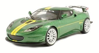 CC56602 Lotus Evora GT4 Lotus Sport in green livery